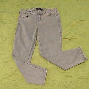 Torrid cropped stretch skinny jeans